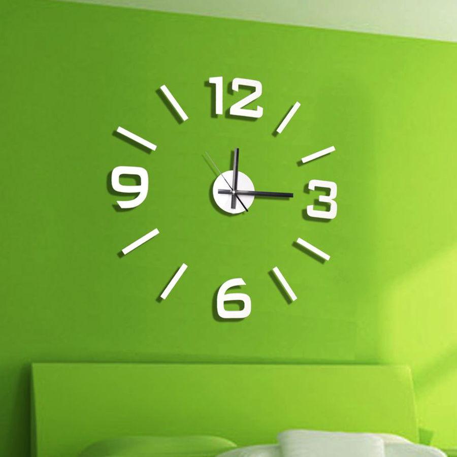 Reloj de pegar en la pared