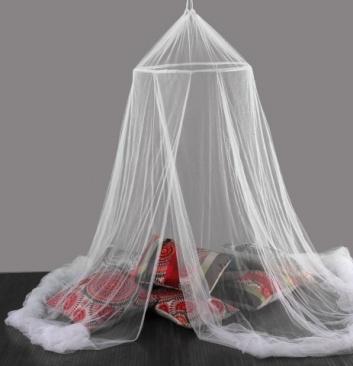 Cortina antimosquitos para cama