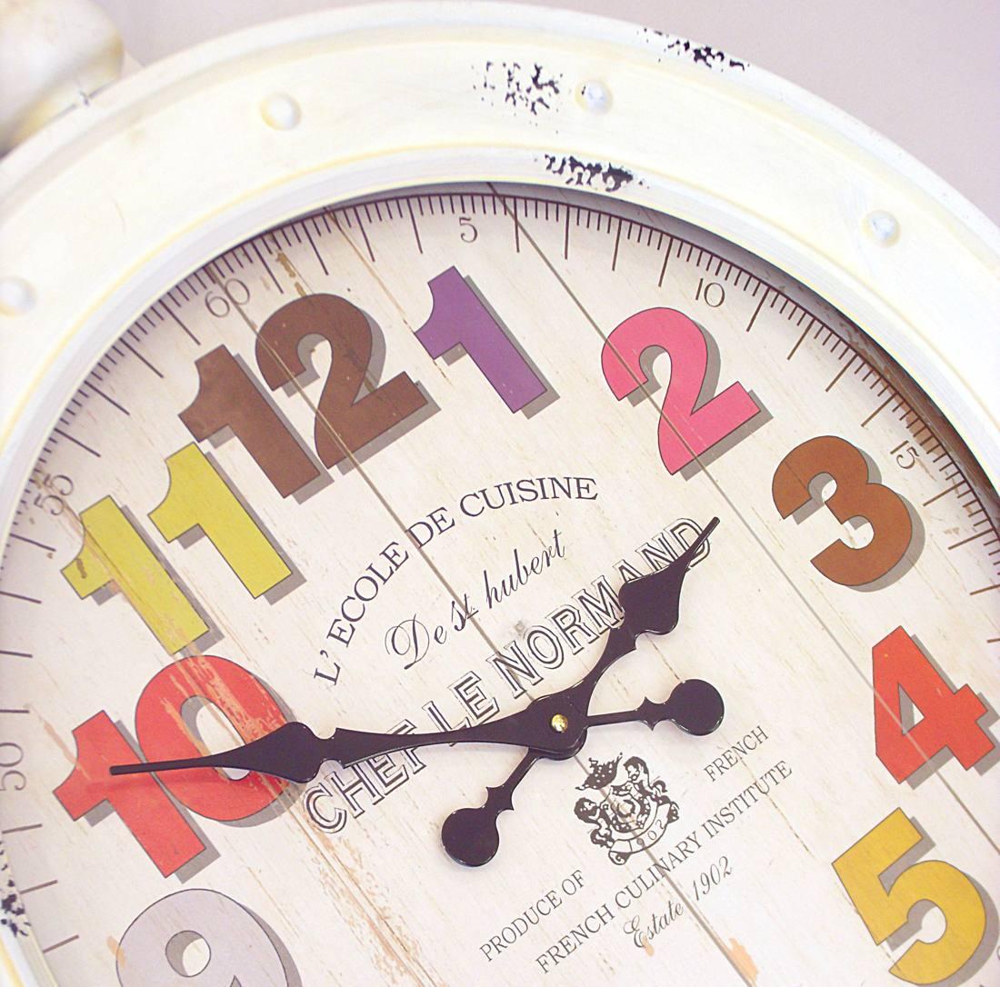Reloj de pared estilo vintage