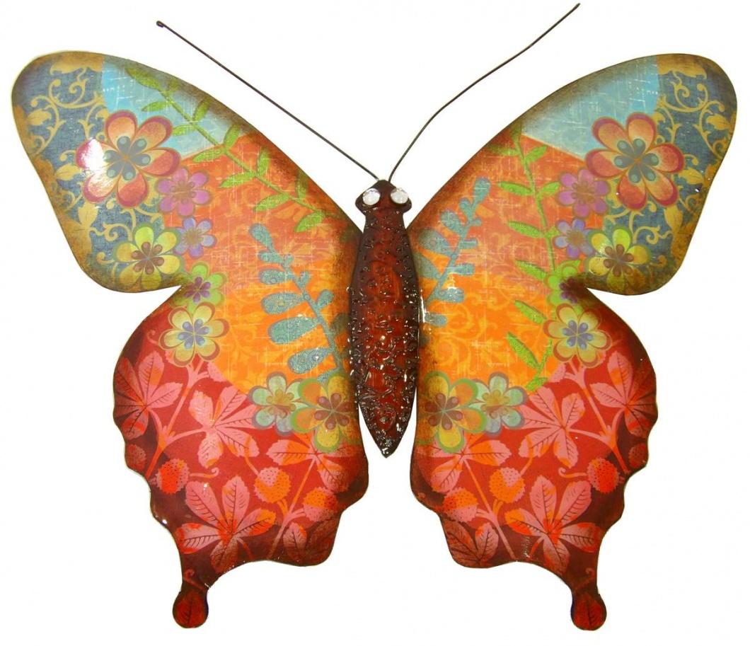 Aplique decorativo mariposa