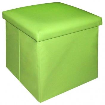 Puff verde pequeño