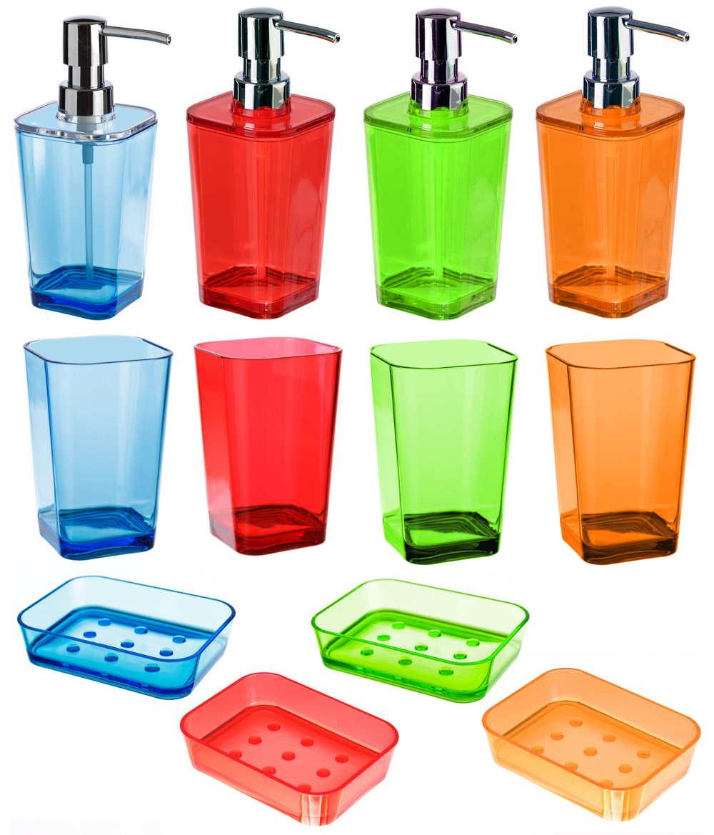Juegos de tocador multicolor