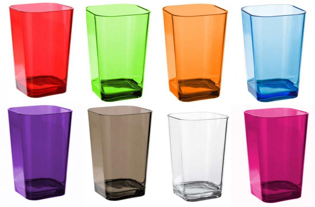 Vasos portacepillos de colores