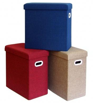 Puffs caja ordenación lisos