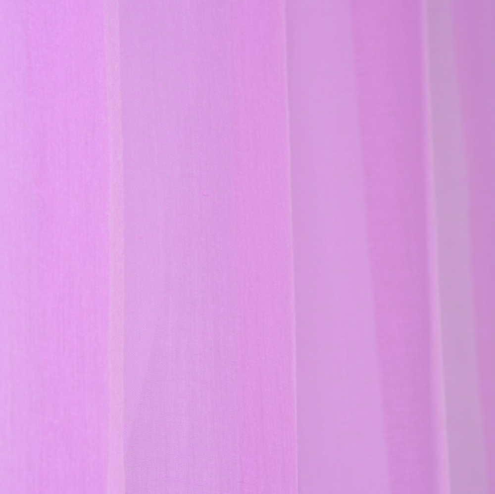 Visillo fino color lila