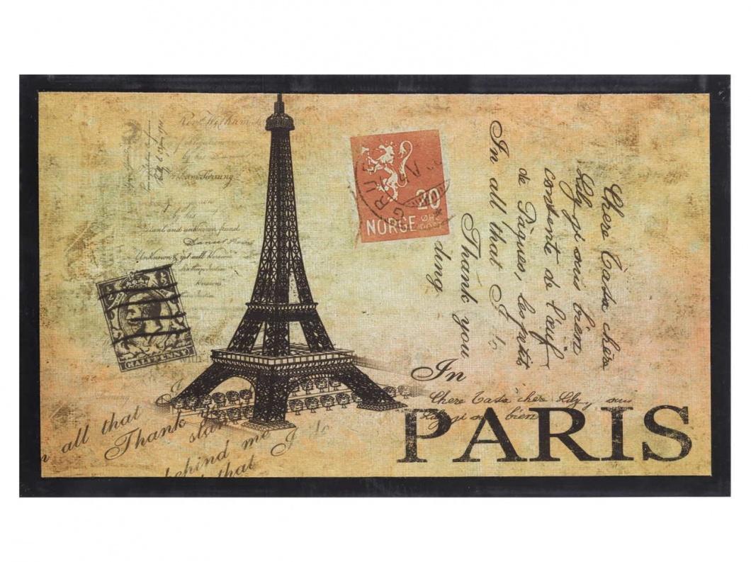 Felpudo fotoimpreso Torre Eiffel