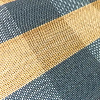Alfombra bambú: detalle