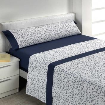 Juego de sábanas con diseño floral