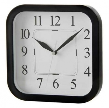 Reloj de colgar negro