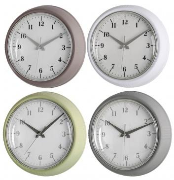 Relojes de pared tonos pastel