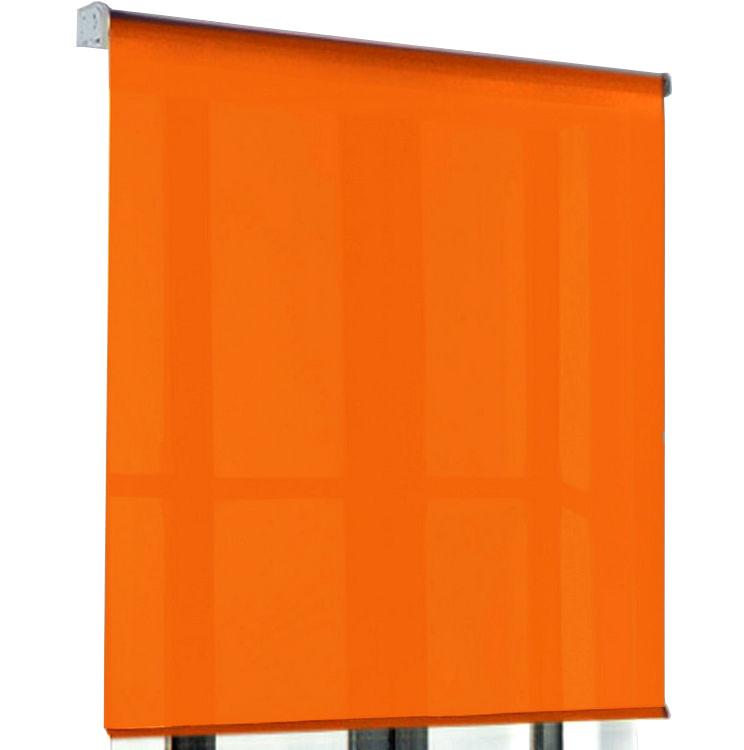Estor de tela naranja