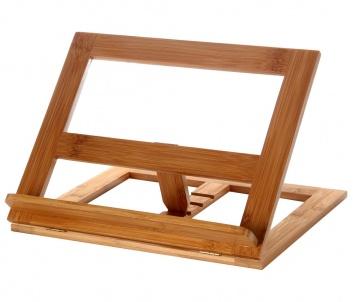 Atril de cocina de madera