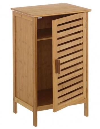 Mueble de ordenación de bambú