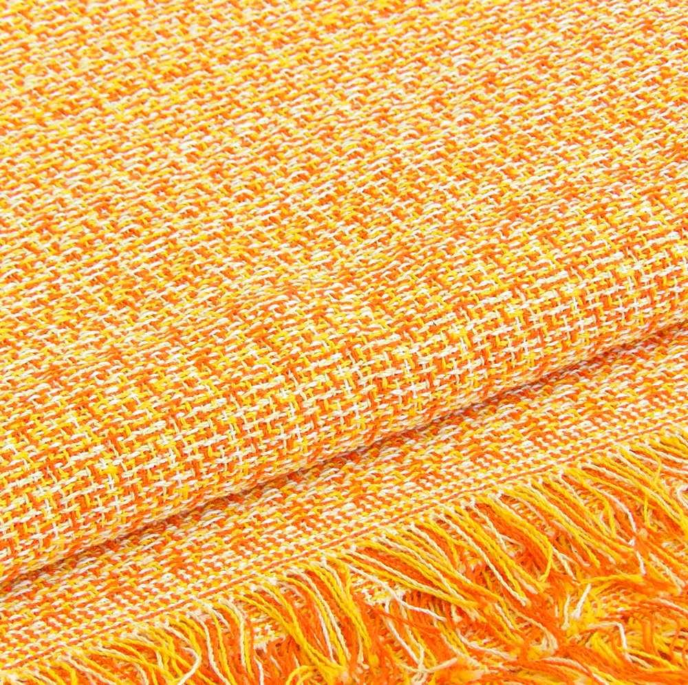 Colcha multiusos naranja