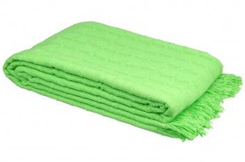 Colcha multiusos verde