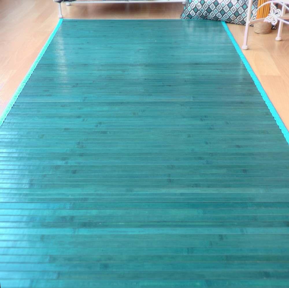 Alfombra de pasillo de bambú