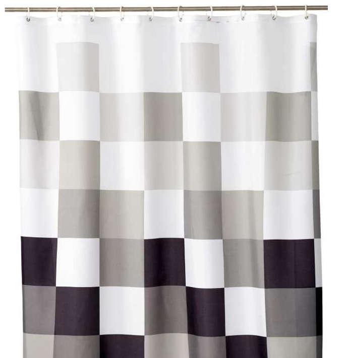 Cortina de ducha cuadrados