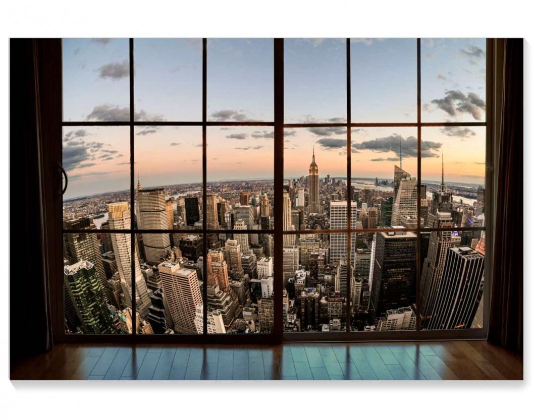 Cuadro lienzo fotoimpreso ciudades