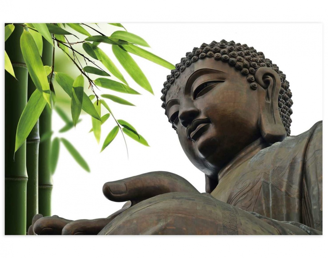 Lienzo fotoimpreso con Buda