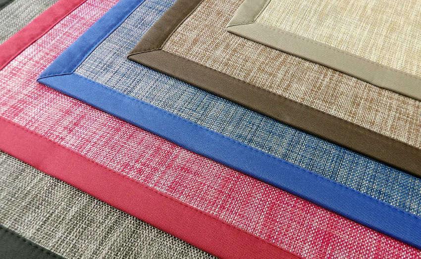 Gama de colores alfombras PVC