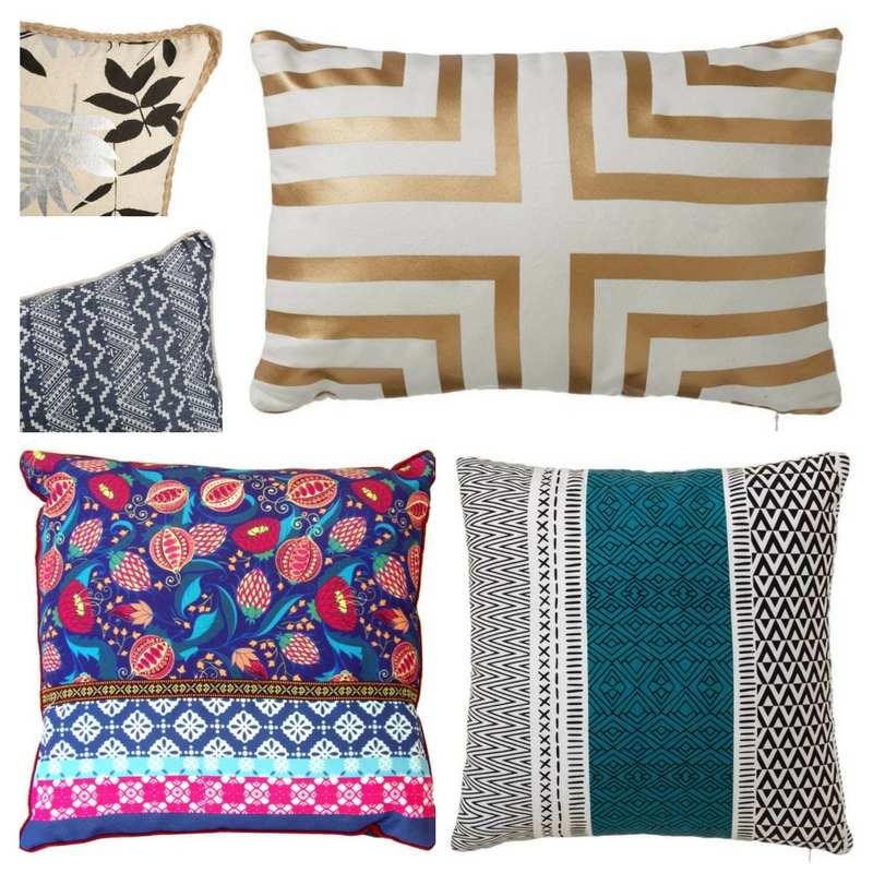 Cojines de cama y sofá