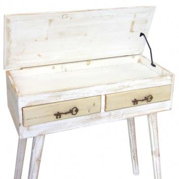 Mesa de escritorio con tapa