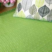 Alfombra de algodón verde