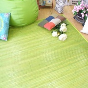Alfombra bambú lisa