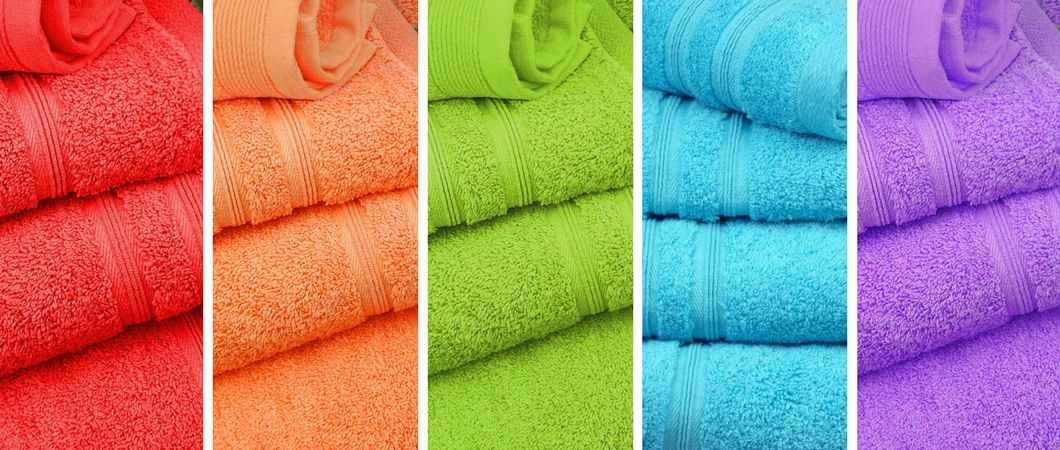 Toallas de algodón 100%