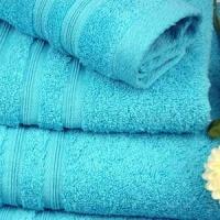 Toallas de baño azul