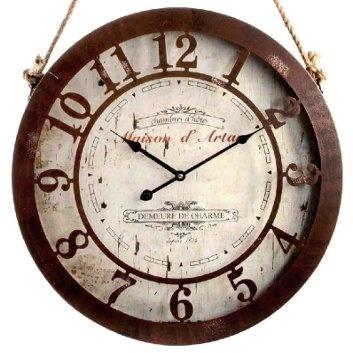 Reloj redondo para pared