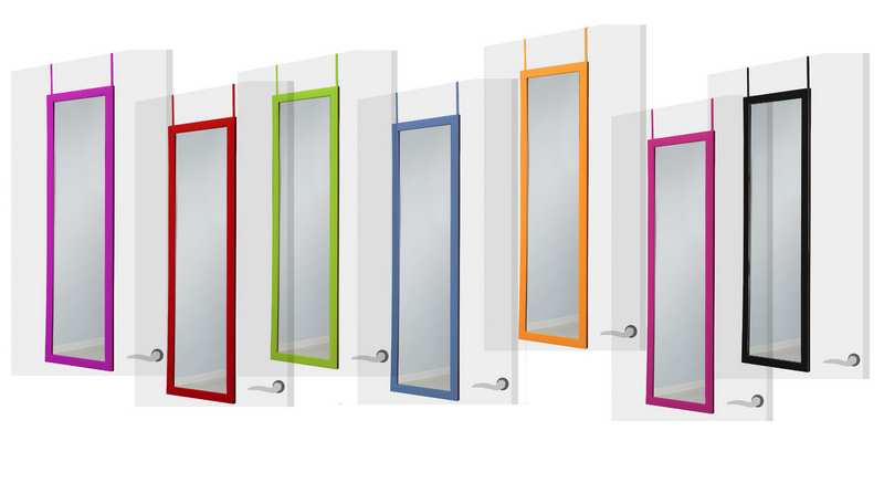 Espejos multicolor de puerta