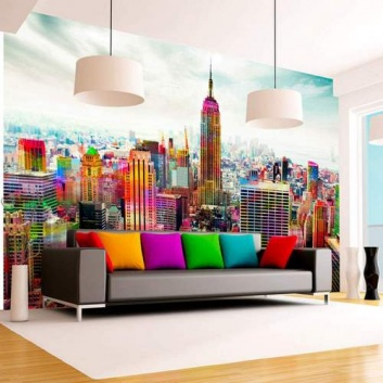 Fotomural a pared completa Nueva York