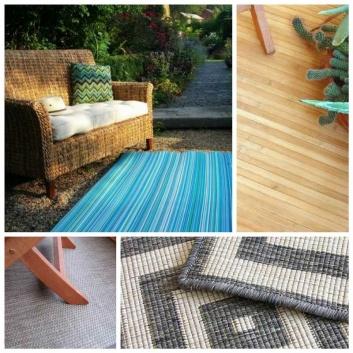 Las mejores alfombras de exterior