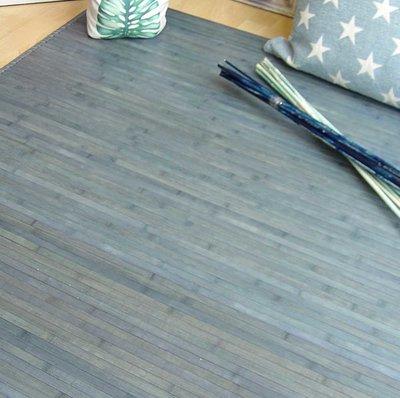 Alfombra lisa de bambú