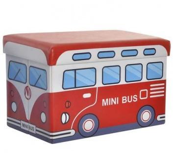 Puff arcón autobús