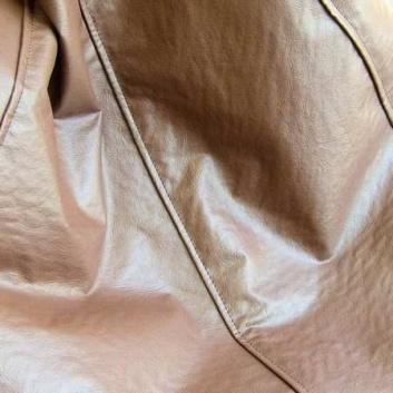 Textura piel puff exterior