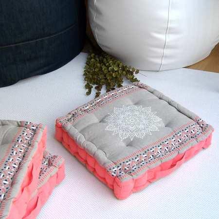 Cojines de suelo de algodón