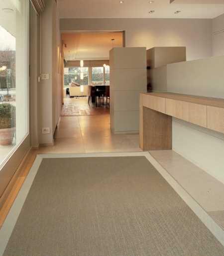 Decoración con alfombra vinílica
