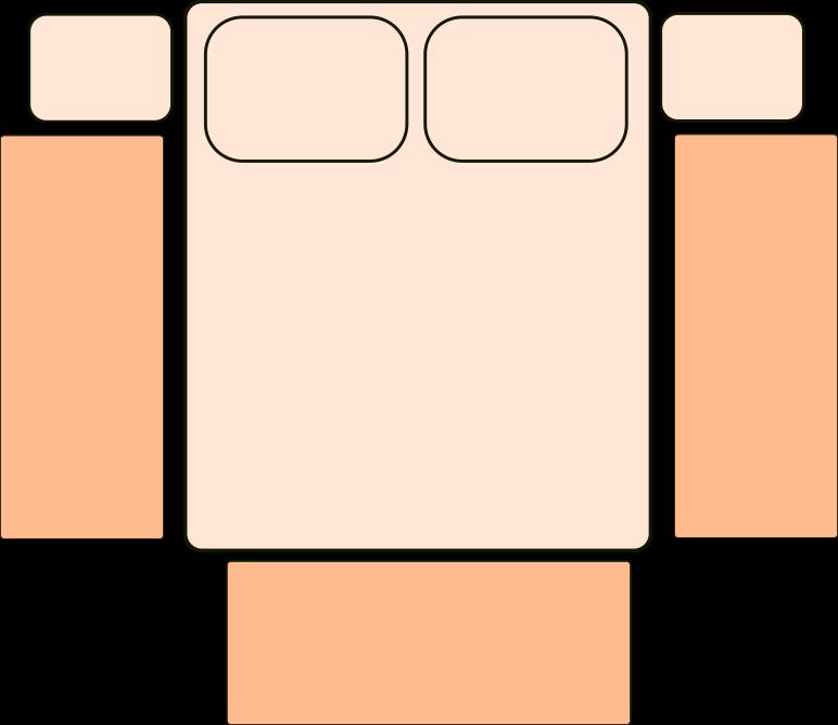 Medidas de alfombra para dormitorio