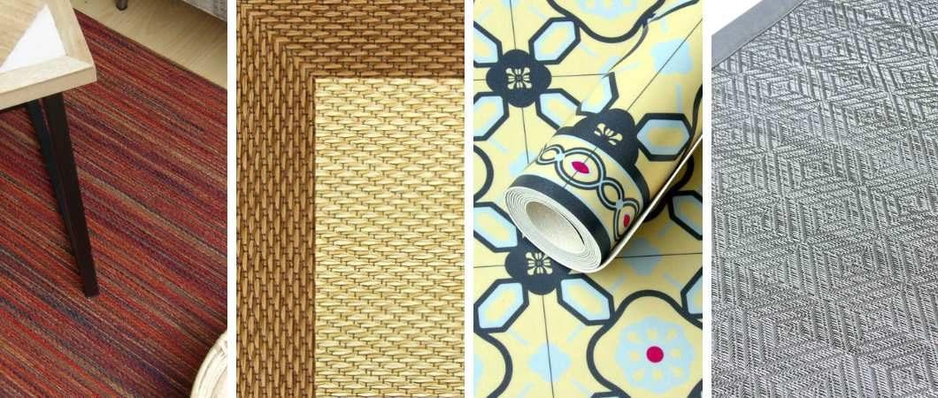 Tipos de alfombras vinílicas