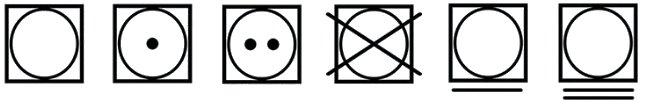 Símbolos de tratado de alfombras
