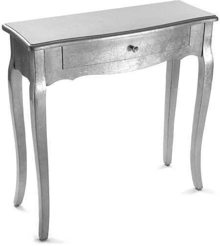 Aparador estilo clásico color plata