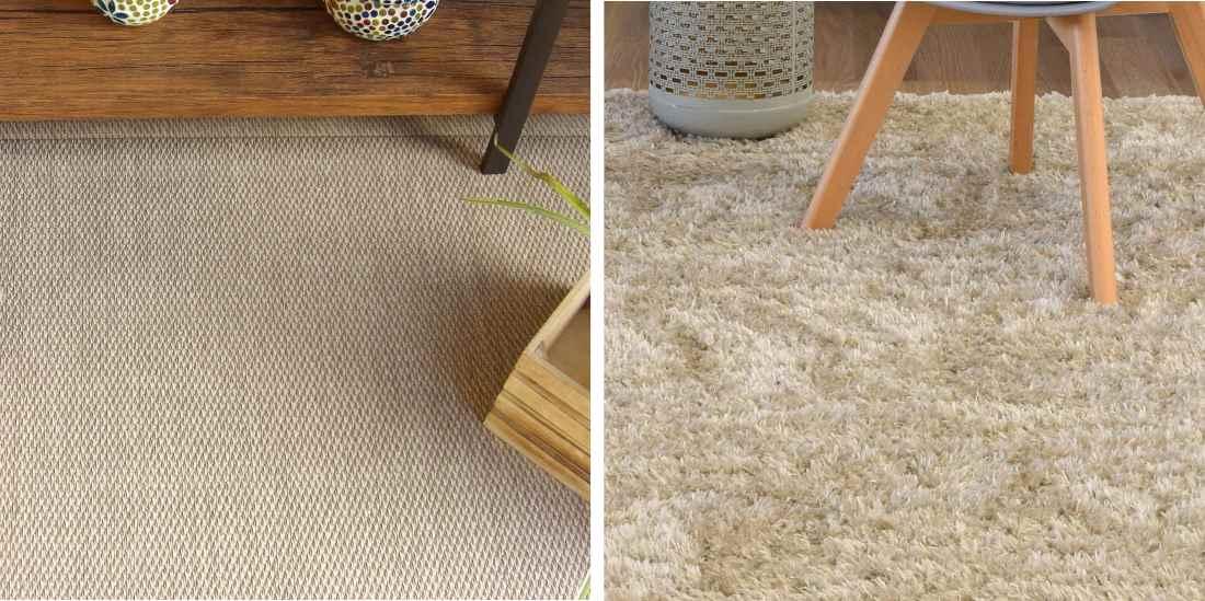 Alfombras de pelo vs alfombras vinílicas