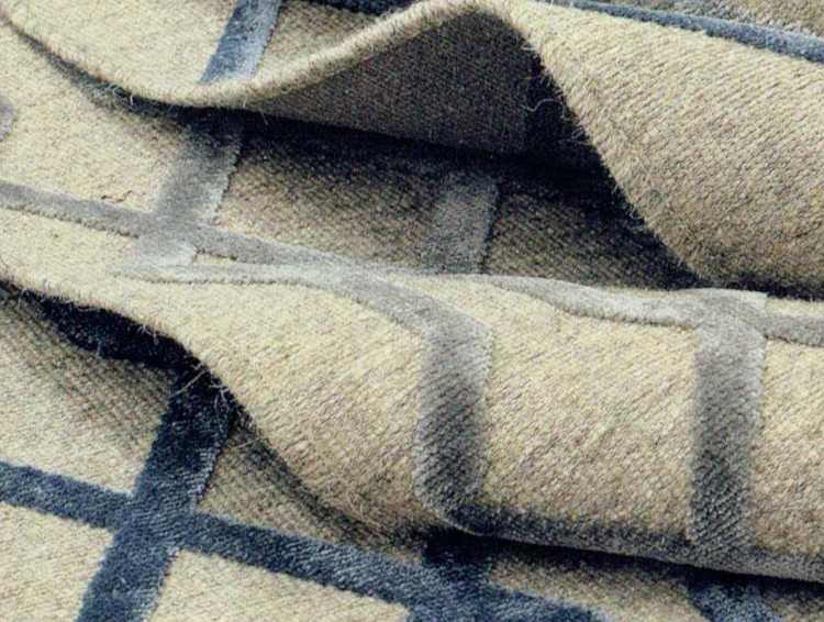 Detalle de alfombra de lana