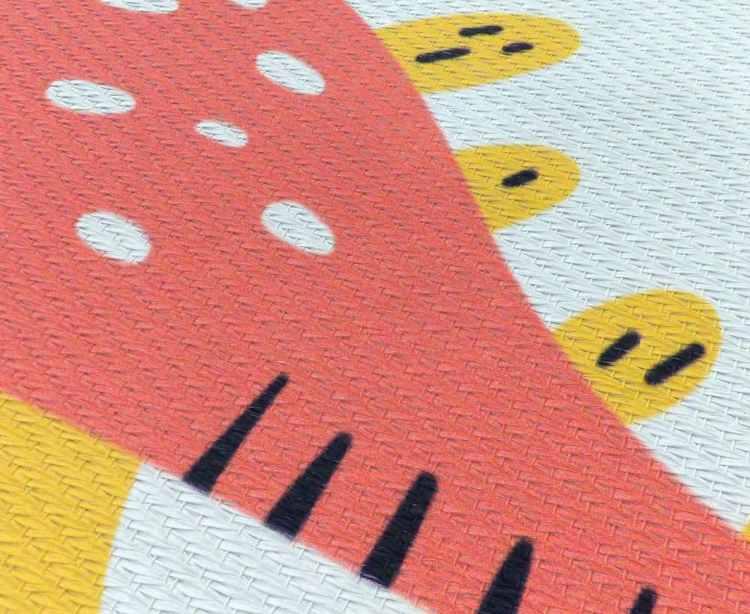Textura de alfombra impresión digital